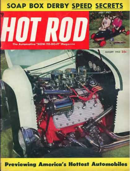 Hot Rod - August 1953