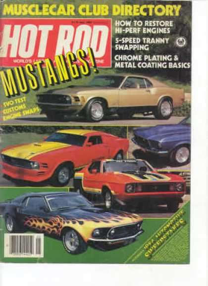 Hot Rod - May 1984
