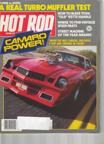 Hot Rod - July 1984