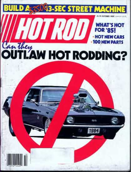 Hot Rod - October 1984