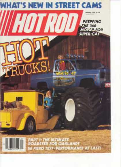 Hot Rod - January 1985