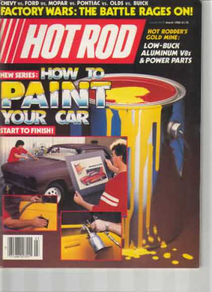 Hot Rod - March 1985