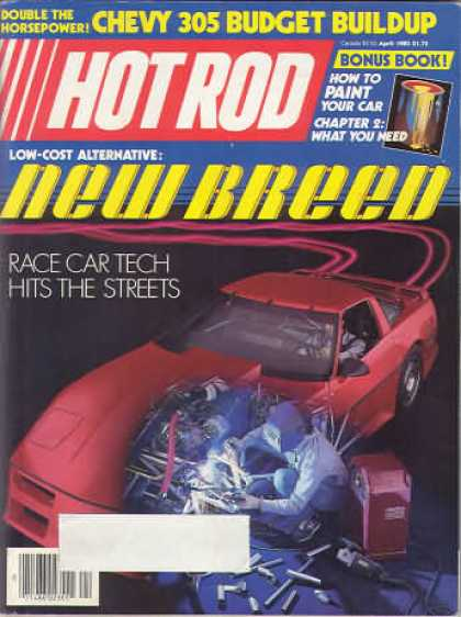 Hot Rod - April 1985