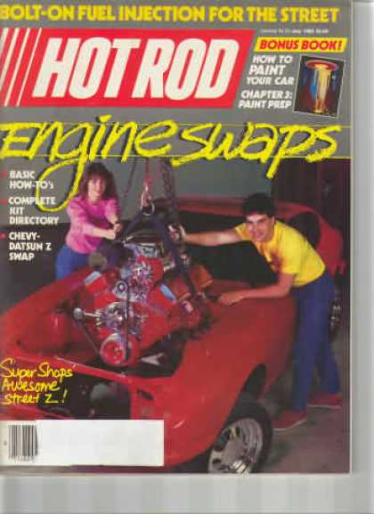 Hot Rod - May 1985