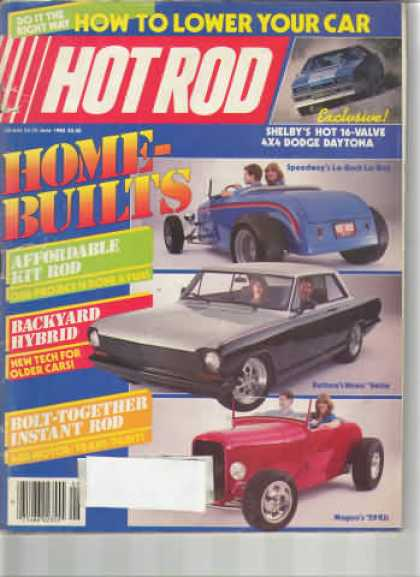 Hot Rod - June 1985