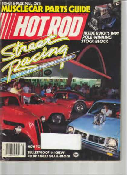 Hot Rod - August 1985