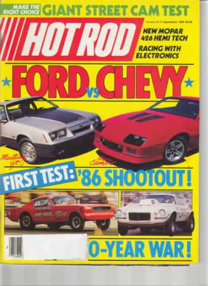 Hot Rod - September 1985