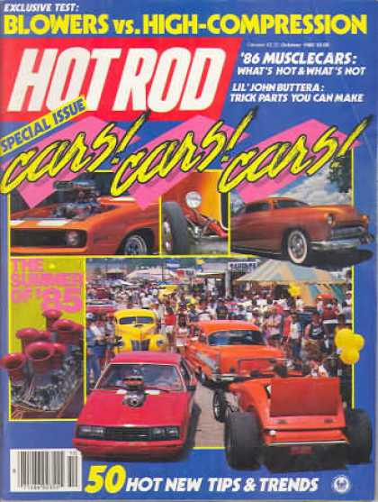 Hot Rod - October 1985