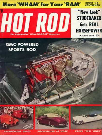 Hot Rod - October 1953