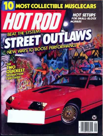 Hot Rod - January 1986