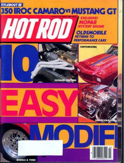 Hot Rod - March 1986