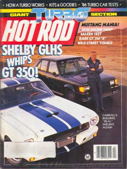 Hot Rod - April 1986