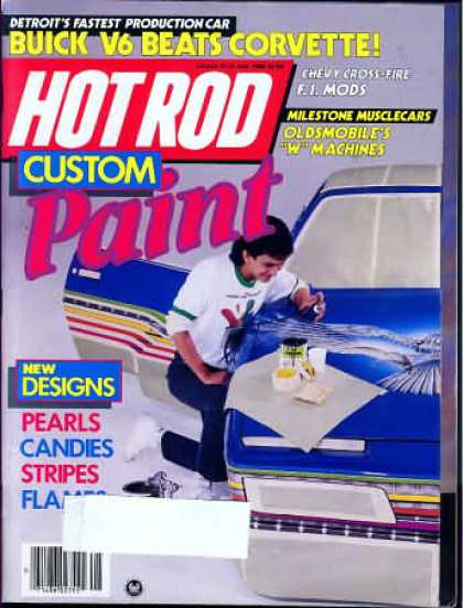 Hot Rod - May 1986