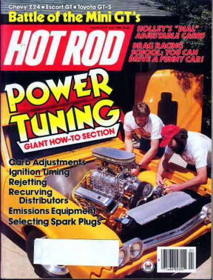Hot Rod - July 1986