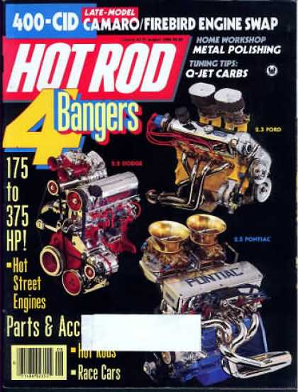 Hot Rod - August 1986