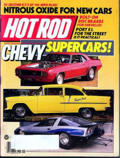 Hot Rod - September 1986