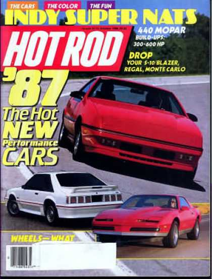 Hot Rod - October 1986