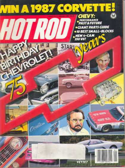 Hot Rod - January 1987
