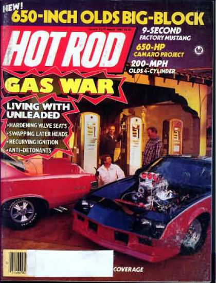 Hot Rod - March 1987