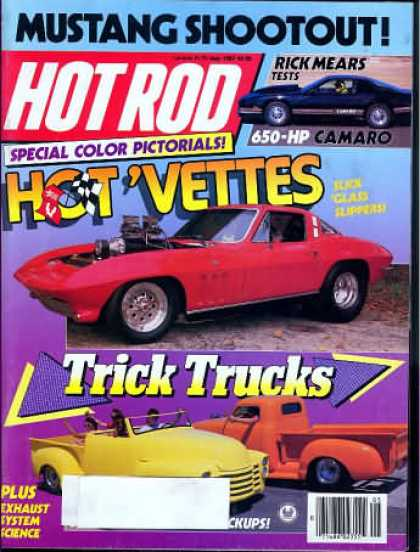 Hot Rod - May 1987