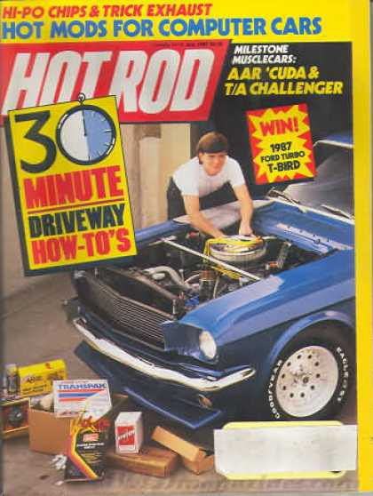 Hot Rod - July 1987