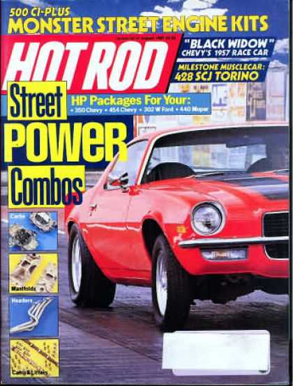 Hot Rod - August 1987