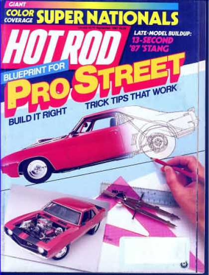 Hot Rod - September 1987
