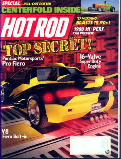 Hot Rod - October 1987