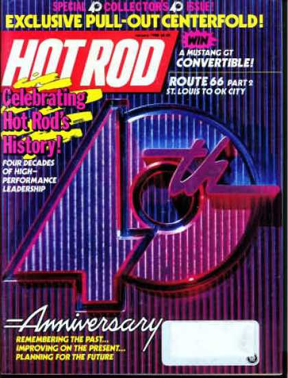 Hot Rod - January 1988