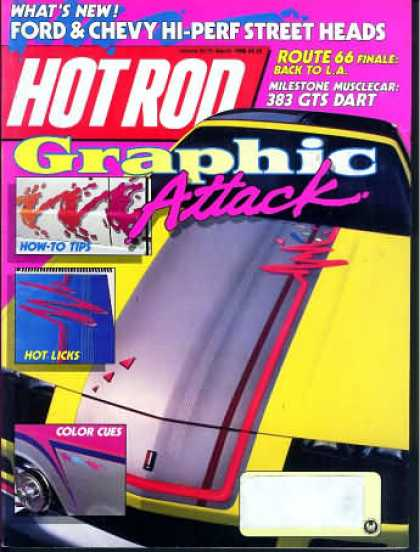 Hot Rod - March 1988