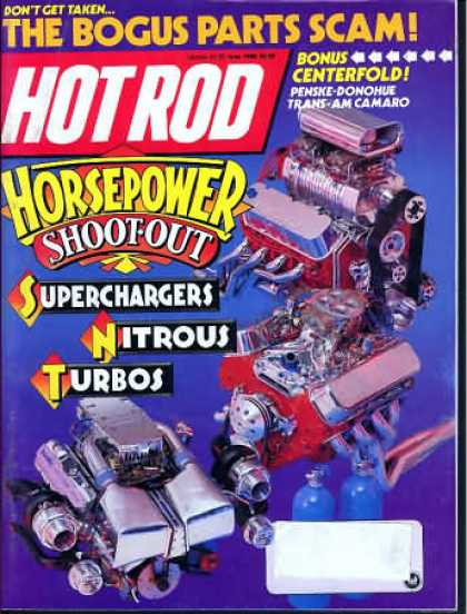 Hot Rod - June 1988