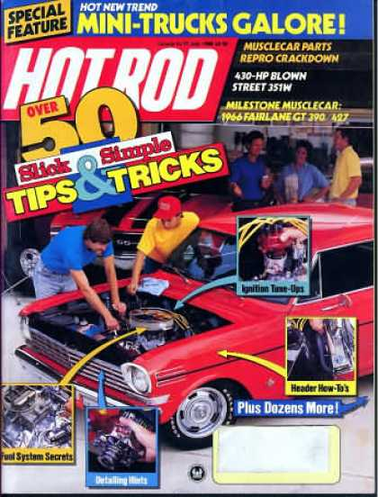 Hot Rod - July 1988