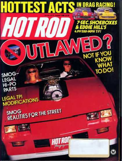 Hot Rod - August 1988
