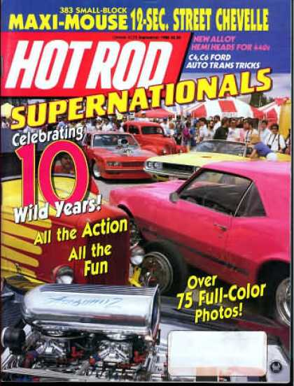Hot Rod - September 1988