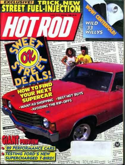 Hot Rod - October 1988