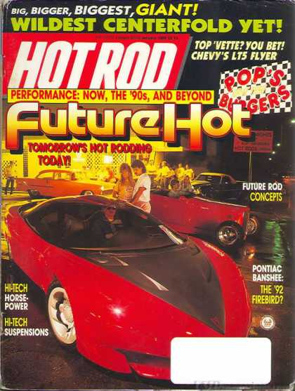 Hot Rod - January 1989