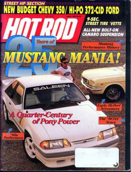 Hot Rod - March 1989