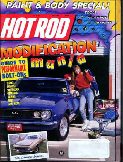 Hot Rod - May 1989