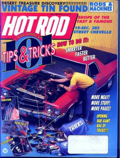 Hot Rod - June 1989