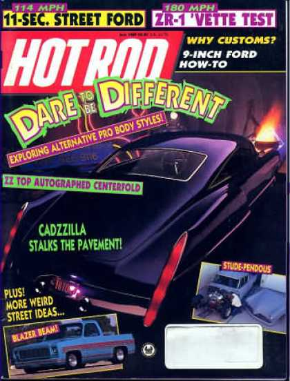 Hot Rod - July 1989