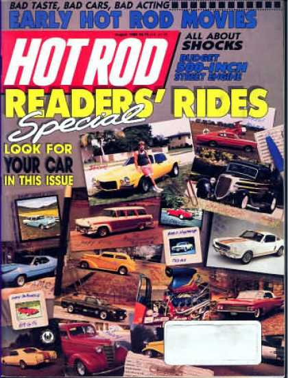 Hot Rod - August 1989