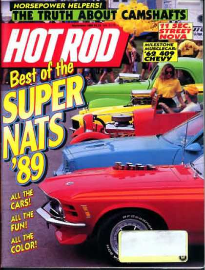 Hot Rod - September 1989