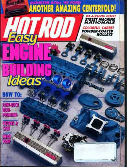 Hot Rod - October 1989