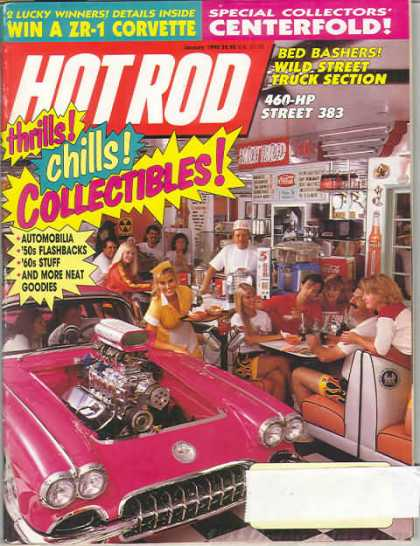 Hot Rod - January 1990