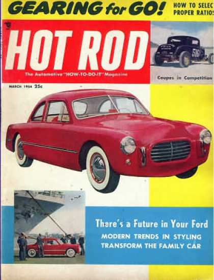 Hot Rod - March 1954