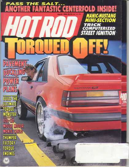 Hot Rod - March 1990
