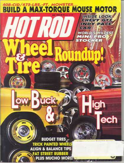 Hot Rod - May 1990