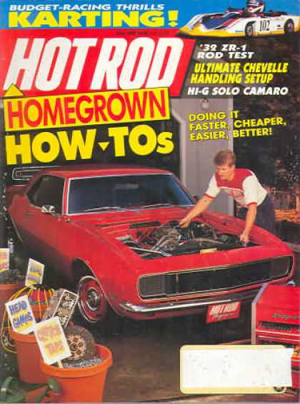 Hot Rod - June 1990