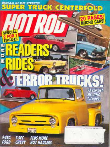 Hot Rod - August 1990