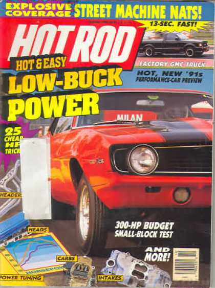 Hot Rod - October 1990